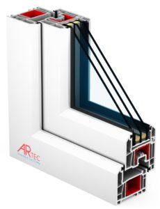 пластиковые окна ARtec EFFECTIV