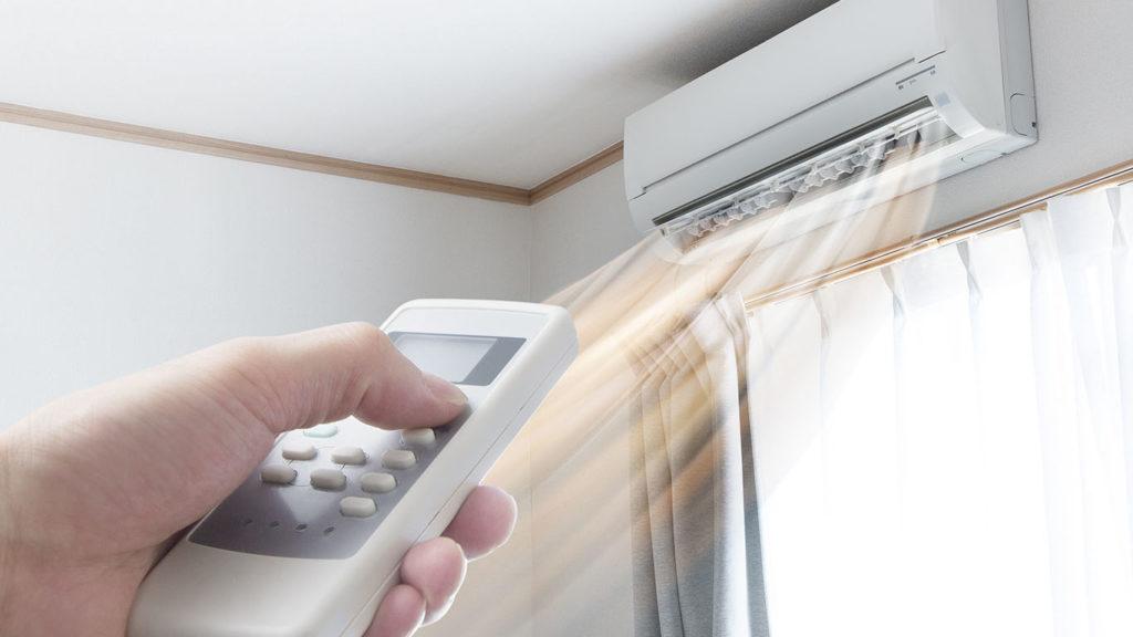 охлаждение помещения летом